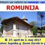 Romanje v Romunijo